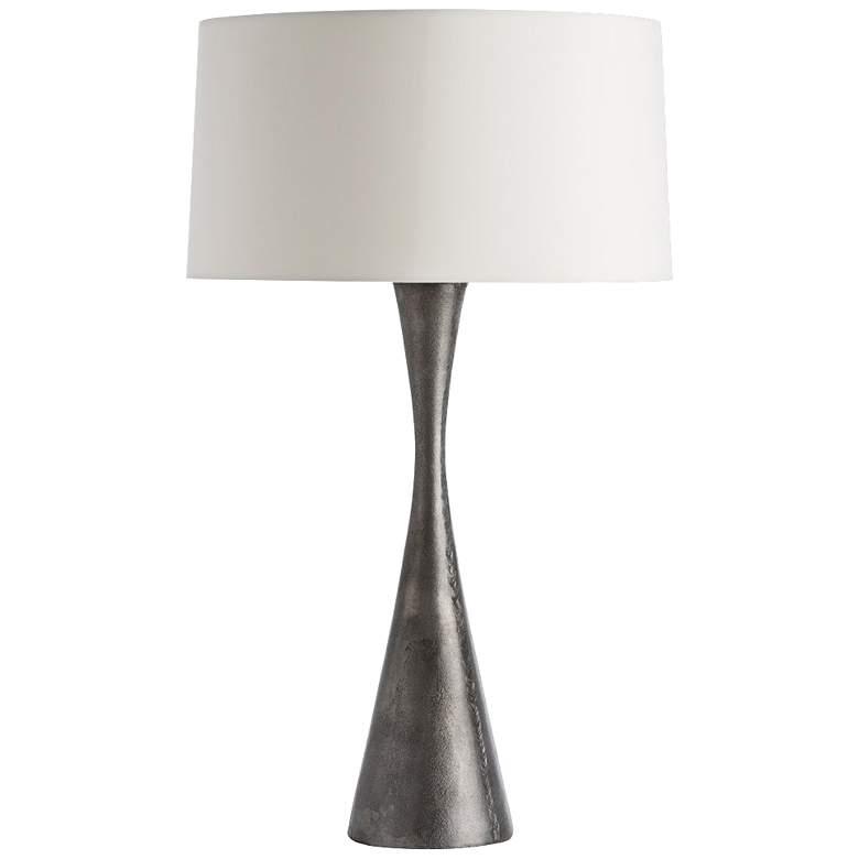 Arteriors Home Narsi Antiqued Aluminum Table Lamp