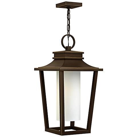 "Sullivan 23"" High Oil-Rubbed Bronze Outdoor Hanging Lantern"