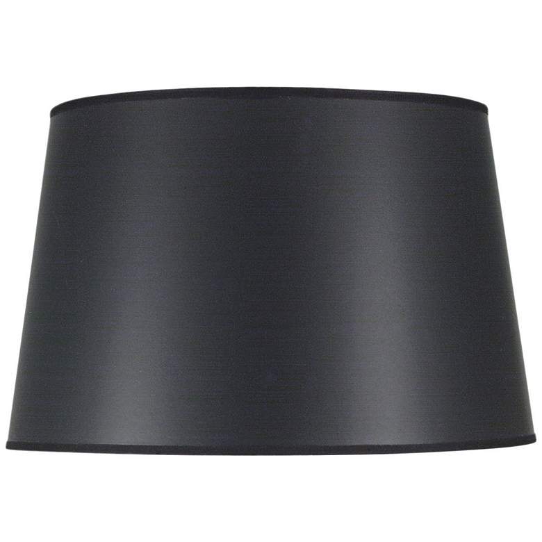 Stiffel Black Opaque English Barrel Shade 13x16x10 (Spider)