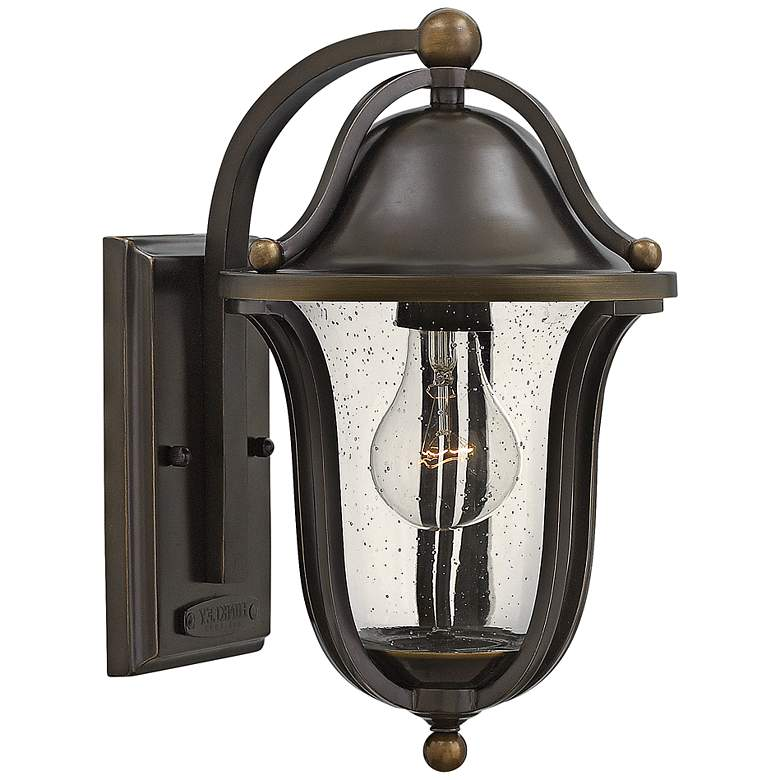 "Hinkley Bolla 7 1/4"" Wide Olde Bronze Outdoor Wall Light"