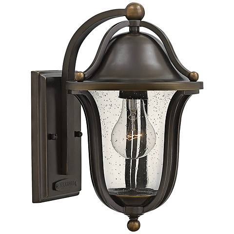 "Hinkley Bolla 7 1/4"" Wide Olde Bronze Outdoor Wall Light"