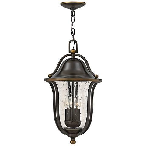 """Hinkley Bolla 20 1/2"""" High Olde Bronze Outdoor Hang Light"""