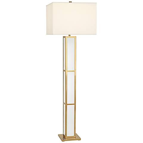 Jonathan adler barcelona white floor lamp