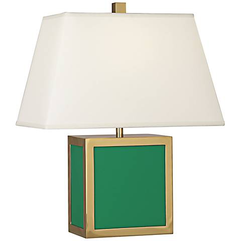 "Jonathan Adler 19 1/2""H Barcelona Emerald Green Accent Lamp"