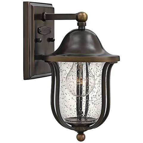 "Hinkley Bolla 6"" Wide Olde Bronze Outdoor Wall Light"