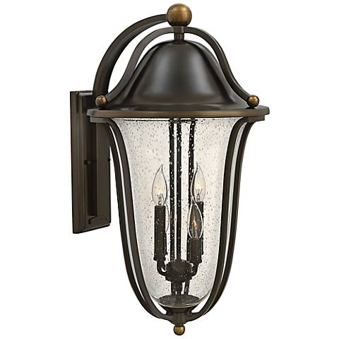 "Hinkley Bolla 14"" Wide Olde Bronze Outdoor Wall Light"