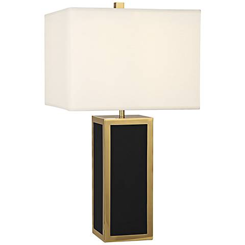 Jonathan Adler Barcelona Black Table Lamp
