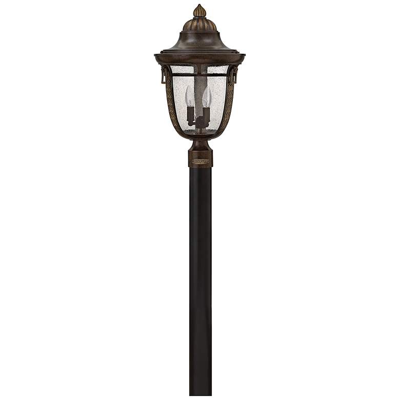 "Hinkley Key West 21 1/4""H Regency Bronze Outdoor Post Light"