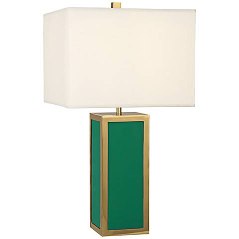 Jonathan Adler Barcelona Emerald Green Table Lamp
