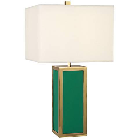 Jonathan Adler Barcelona Emerald Green Table Lamp