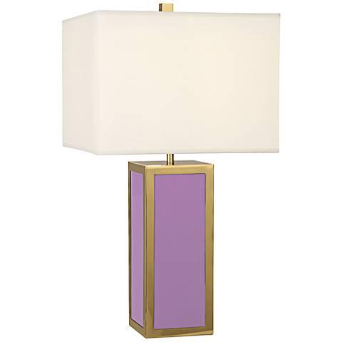 Jonathan adler barcelona lavender table lamp 7v820 lamps plus jonathan adler barcelona lavender table lamp aloadofball Images