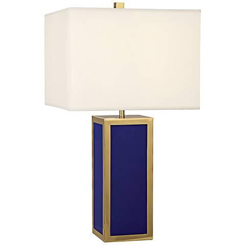 Jonathan Adler Barcelona Royal Blue Table Lamp