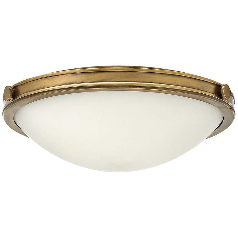 "Hinkley Foyer Maxwell 19""W Heritage Brass Ceiling Light"