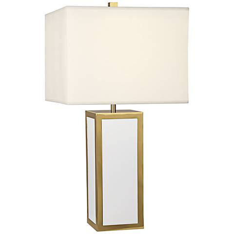 Jonathan Adler Barcelona White Table Lamp