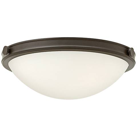 "Hinkley Foyer Maxwell 19""W Oil-Rubbed Bronze Ceiling Light"