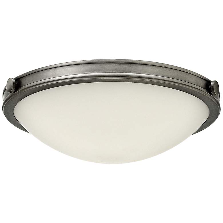 "Hinkley Foyer Maxwell 19""W Antique Nickel Ceiling Light"