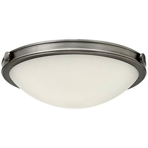 "Hinkley Foyer Maxwell 19""W Antique Nickel Ceiling Light"