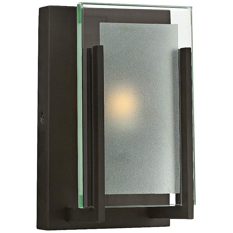 """Hinkley Latitude 8"""" High Oil-Rubbed Bronze Wall Sconce"""