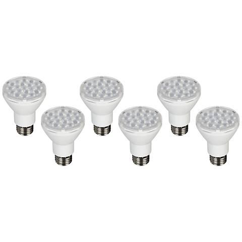 75W Equivalent Tesler 8W LED Dimmable PAR20 Bulb 6-Pack