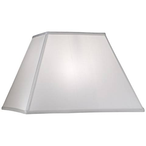 Stiffel Global White Square Shade 8/8x16x16x11 (Spider)