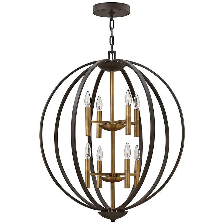 "Hinkley Euclid 28 1/4"" Wide Spanish Bronze 8-Light Pendant"