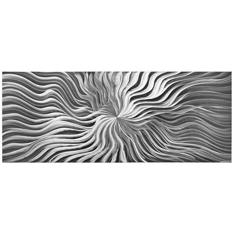 "Flexure Composition 48"" Wide HD Photo Print Metal Wall Art"