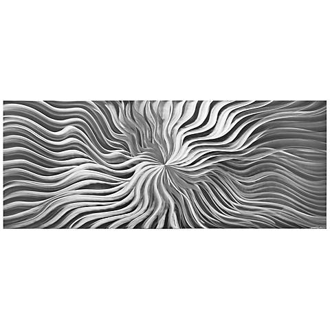"Flexure Composition 48"" Wide HD Photo Print Metal Wall Art"