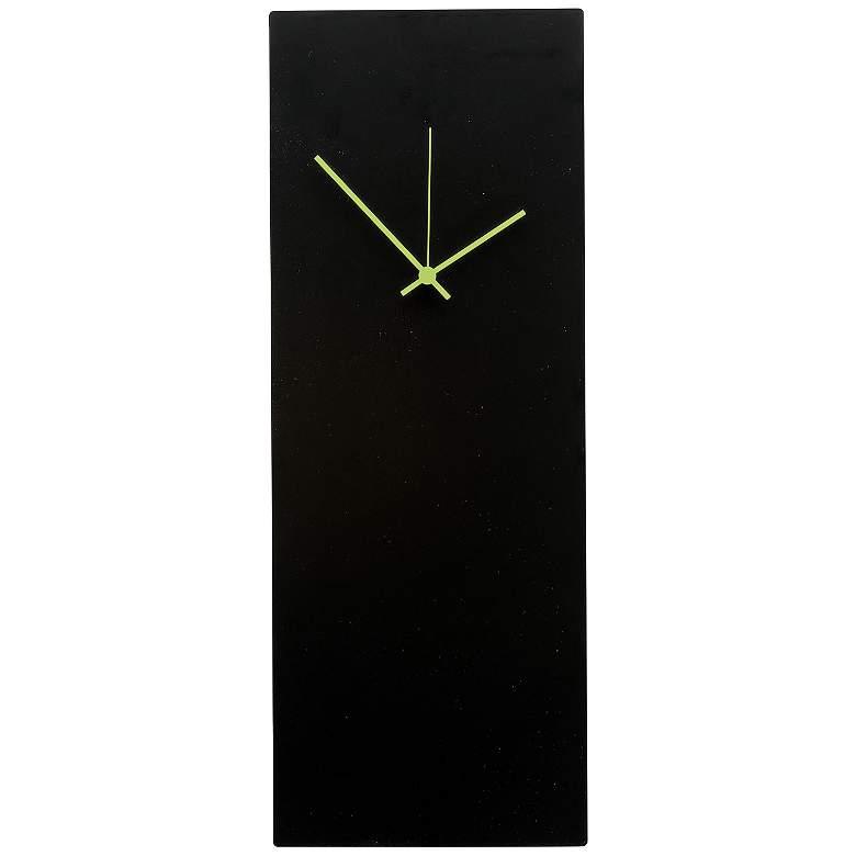 "Blackout Green Large 22"" High Minimalist Modern Wall"
