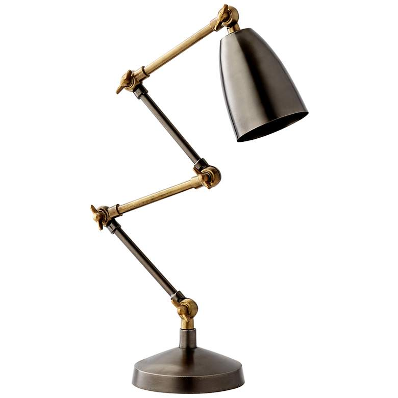 Cyan Angleton Adjustable Desk Lamp