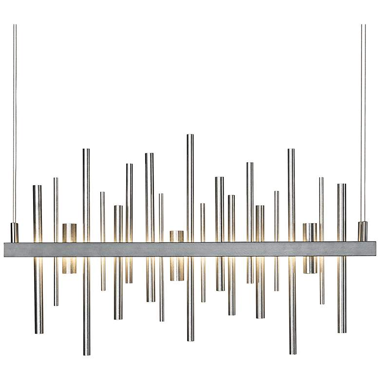 "Cityscape 25 1/2""W Steel LED Kitchen Island Light Pendant"