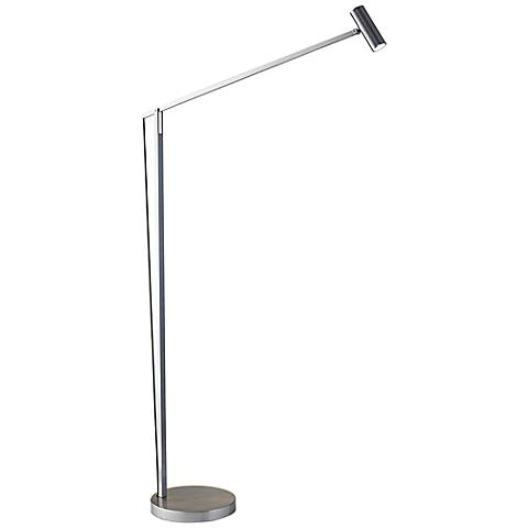ADS360 Collection Crane Brushed Steel LED Floor Lamp