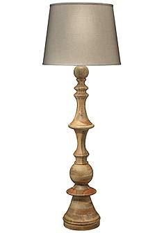 Wood floor lamps lamps plus jamie young low country budapest natural wood floor lamp aloadofball Gallery