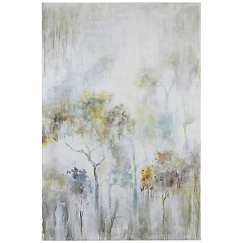 "Uttermost Sunshine Thru the Rain 48"" Wide Canvas Wall Art"