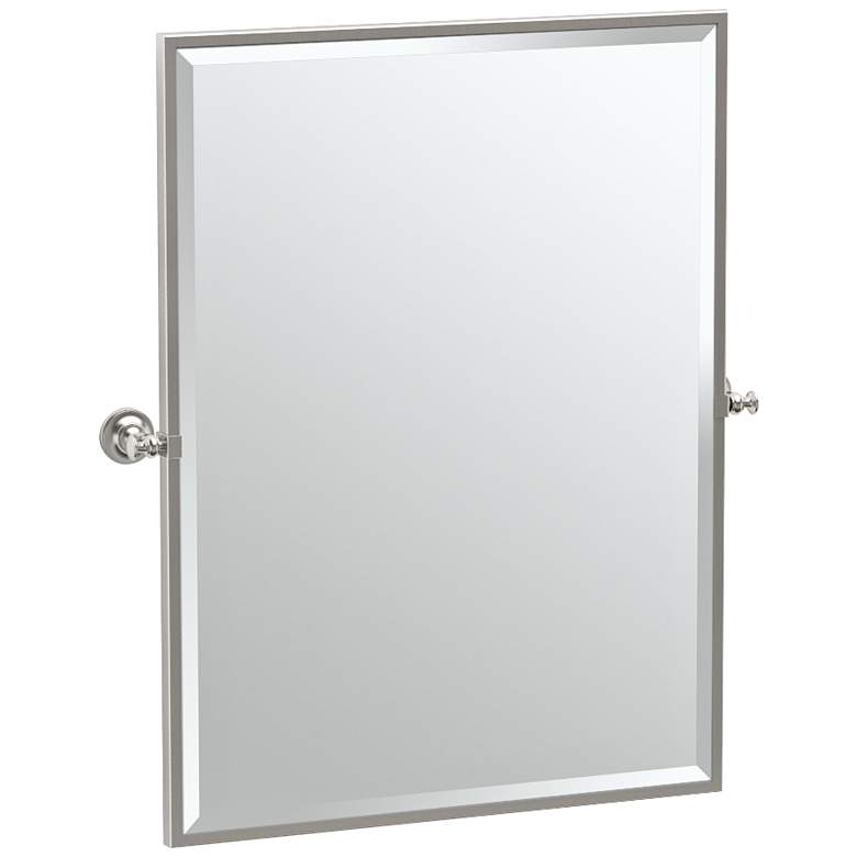 "Gatco Tavern Satin Nickel 28"" x 32 1/2"""