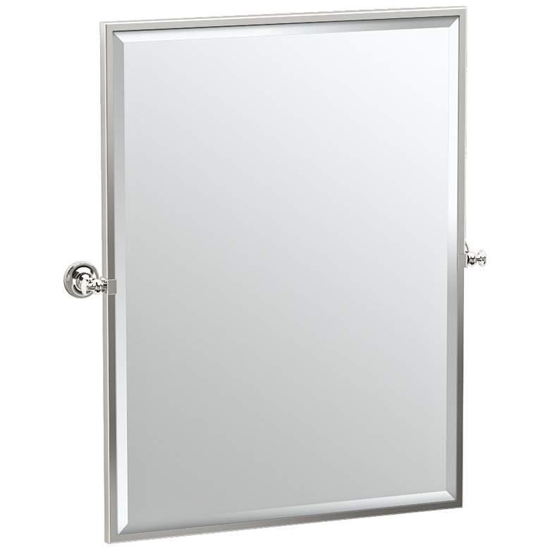 "Gatco Tavern Polished Nickel 28"" x 32 1/2"" Wall Mirror"