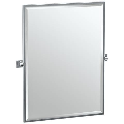 "Gatco Elevate Chrome 27 3/4"" x 32 1/2"" Wall Mirror"