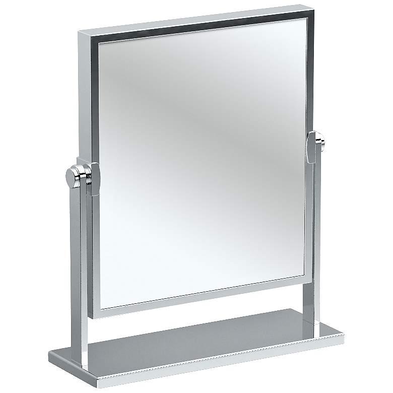 """Gatco Elegant Chrome 9 3/4"""" x 12"""" Table"""