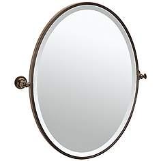 Gatco Tavern Bronze 24 1 2 X 27 Oval Vanity