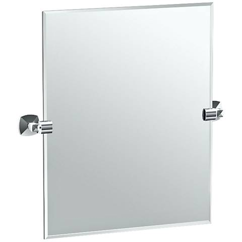 "Gatco Jewel Chrome 23 3/4"" x 24"" Vanity Mirror"