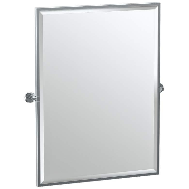"Gatco Latitude II Chrome 27 3/4"" x 32 1/2"" Mirror"