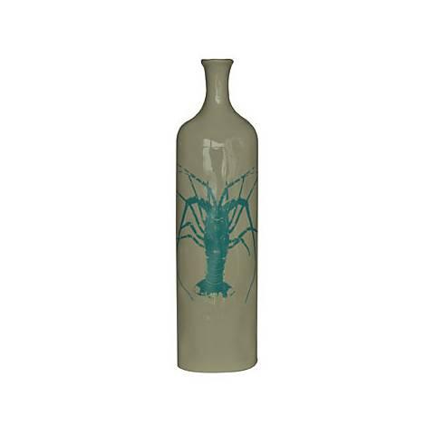 """Crestview Collection Large Lobster 19"""" High Ceramic Vase"""