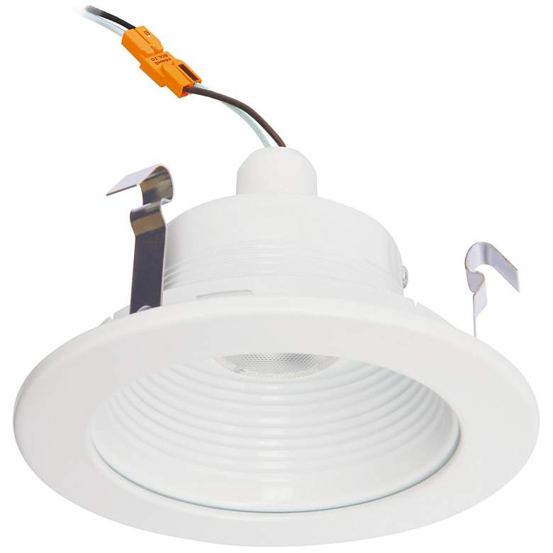 """4"""" Cyber Tech 7 Watt LED Retrofit Trim in White"""