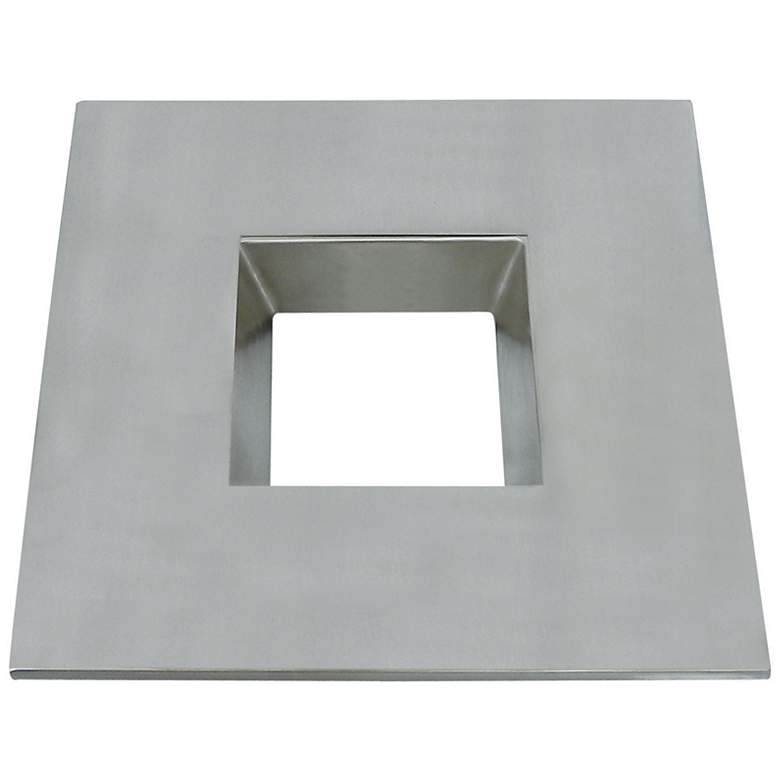 "CyberTech 6"" Recessed Light Square Trim in Satin"