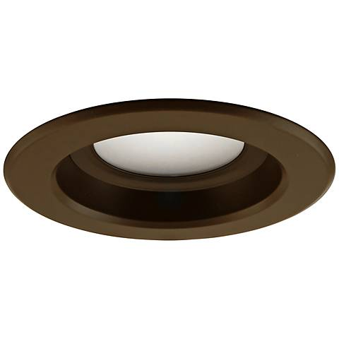 "4"" DLR4 9.1 Watt 2700K LED Retrofit Trim Oil Rubbed Bronze"