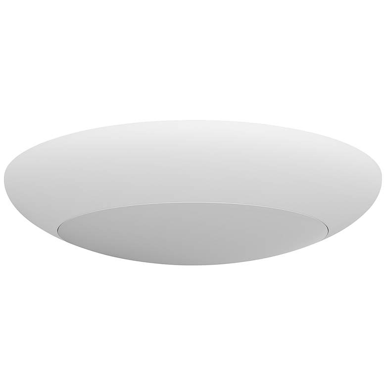 "5/6"" DLS56 17W 2700K Flushmount LED Retrofit Trim in White"