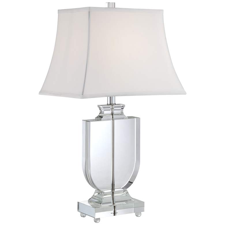 Tilde Clear Crystal Urn Table Lamp By Vienna Full Spectrum
