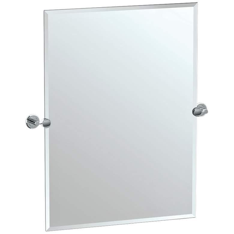 """Gatco Latitude II Chrome 27 1/2"""" x 31 1/2"""" Vanity Mirror"""