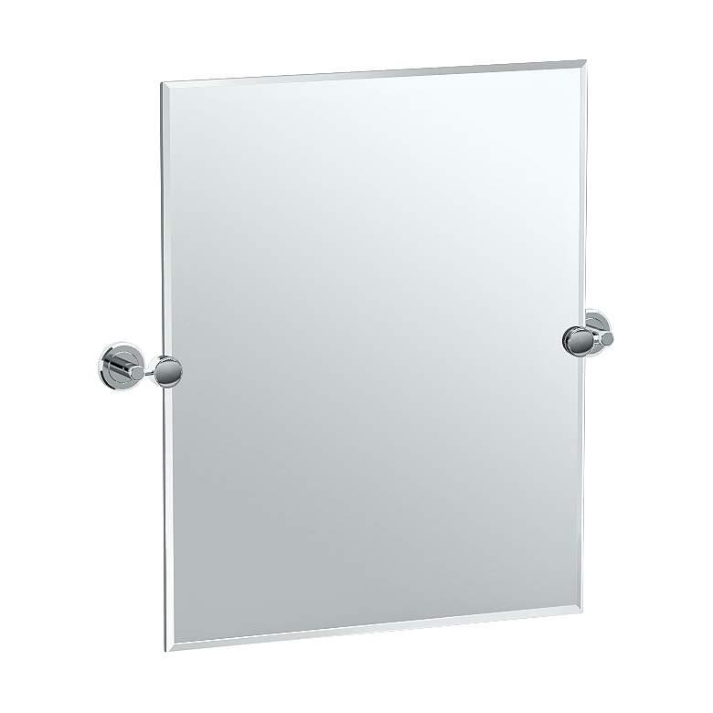 "Gatco Latitude II Chrome 24"" x 24"" Rectangular Vanity Mirror"