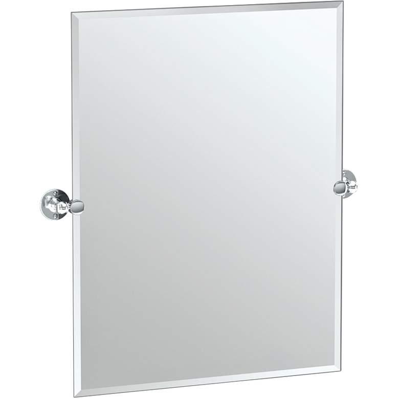 "Gatco Cafe Chrome 27 1/2"" x 31 1/2"" Vanity Mirror"