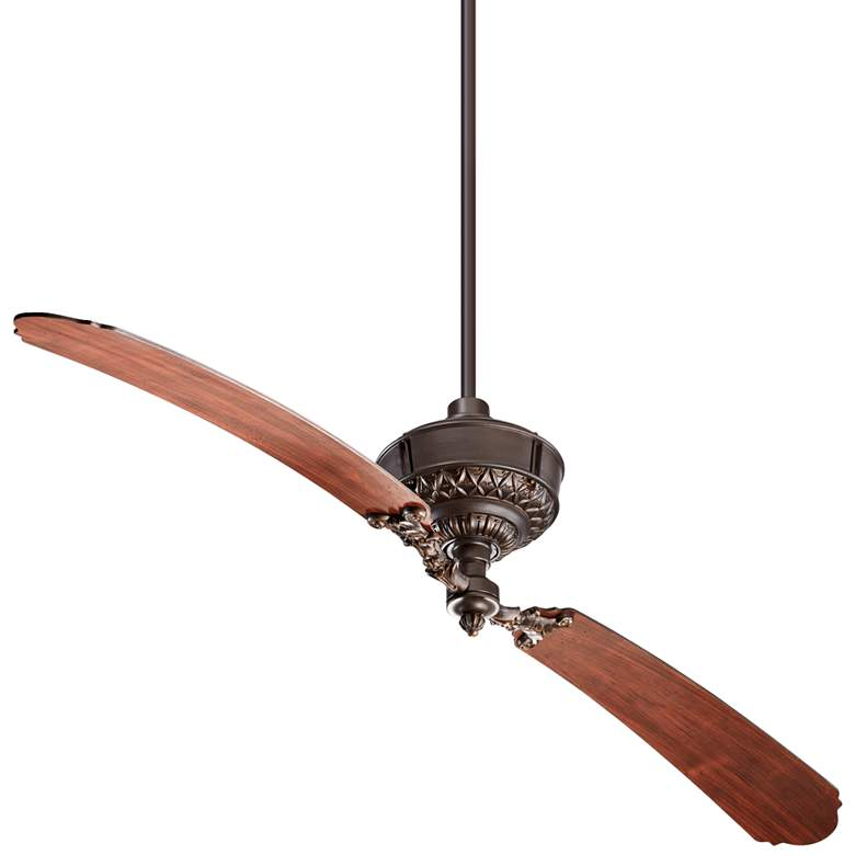 """68"""" Quorum Turner Oiled Bronze Ceiling Fan"""